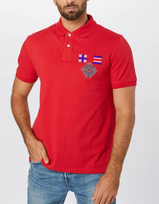 Elegantné polo Nautical 100%bavlna